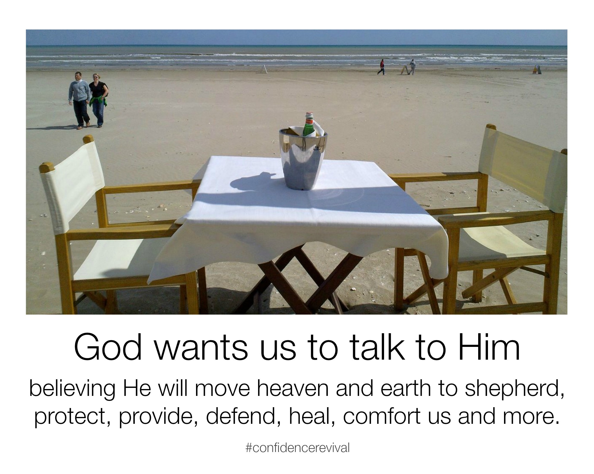 God wants to communicate with us