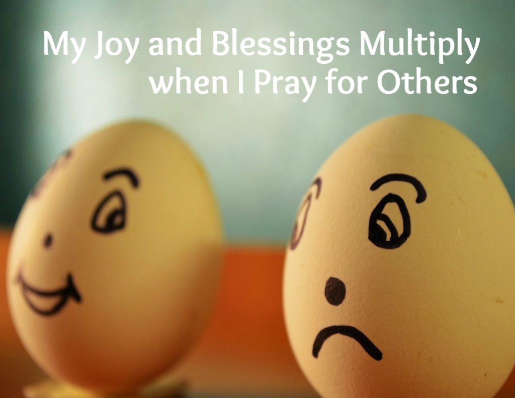 praying for others makes me feel better