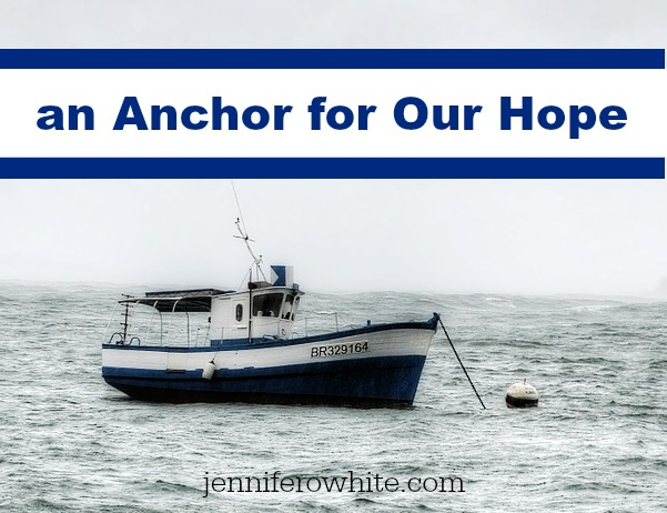 anchor for our hope boat